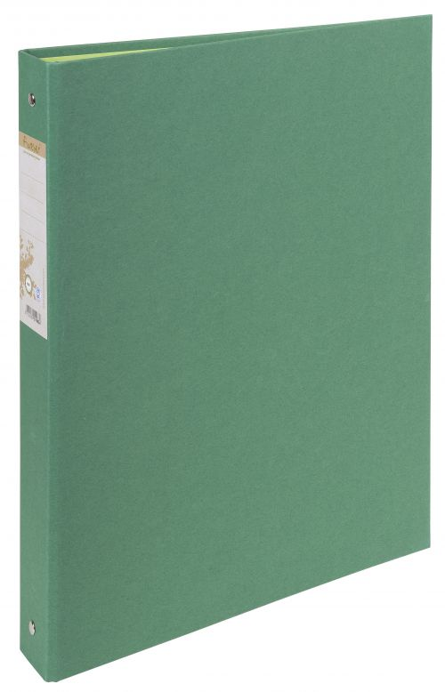 Forever 100% Recycled Ringbinder 2R 30mm Green BX10