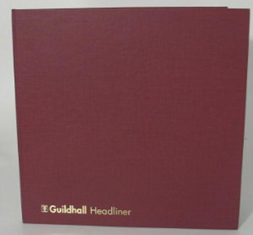 Guildhall Headliner Account Book 4 Debit 16 Credit 58/4-16Z
