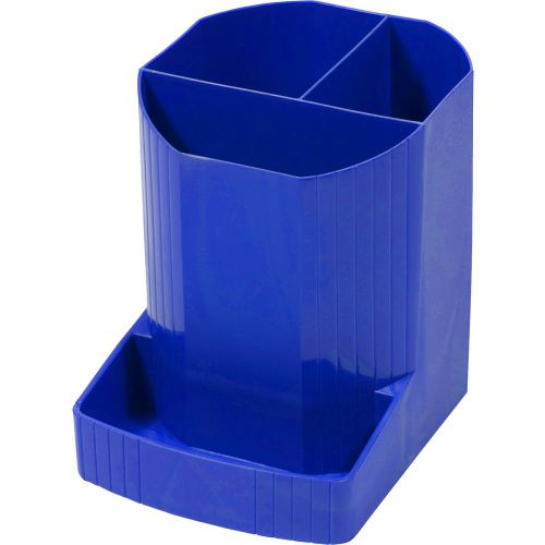 Forever Mini-Octo Recycled Pen Pot Cobalt Blue 123x90x111mm