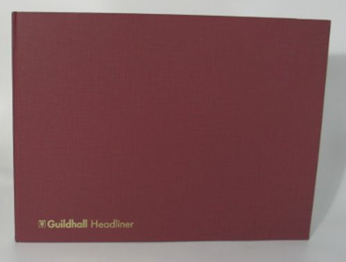 Guildhall Headliner Account Book 298x406mm 6 Deb 20 Cred 80P