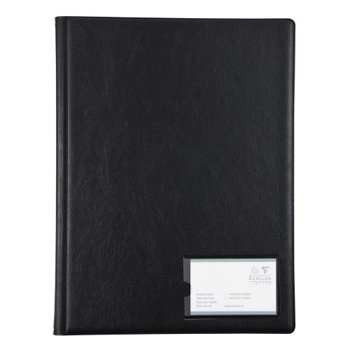 Image for Guildhall Display Book A4 12 Pockets Black