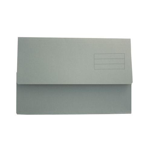 Value Document Wallet Foolscap Green PK50