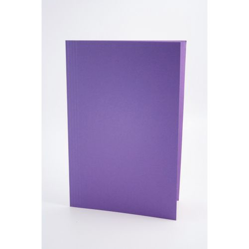 Guildhall Square Cut Folder Foolscap 250gsm Mauve PK100