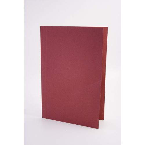 Guildhall Square Cut Folders Manilla Foolscap Red PK100