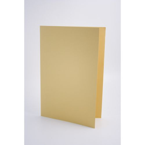 Guildhall Square Cut Folders Manilla Foolscap Yellow PK100
