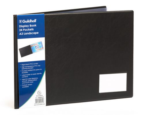 Image for Goldline A3 Display Book Landscape 24 Pockets