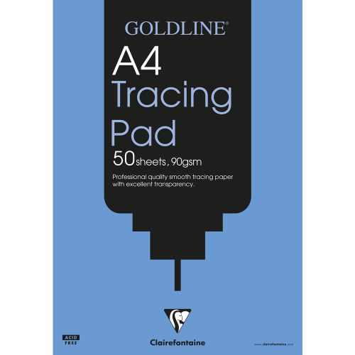 Goldline Professional Tracing Pad A4 GPT1A3Z