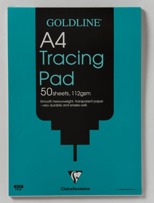 Goldline Tracing Pad A4 112gsm