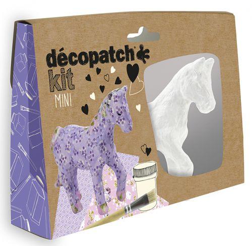 Decopatch Mini Kit Horse (Pack of 5) KIT010O