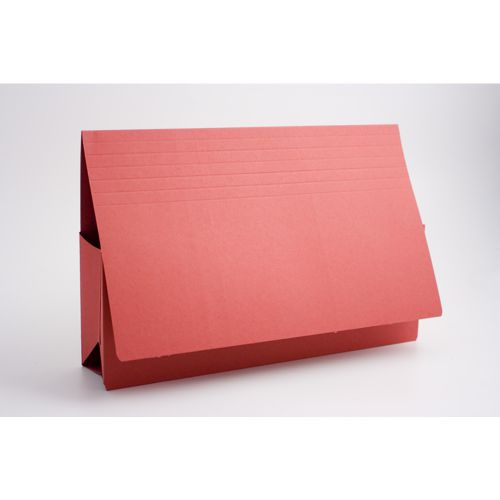 Exacompta Guildhall Probate Document Wallet 315gsm Red (Pack of 25) PRW2-RED