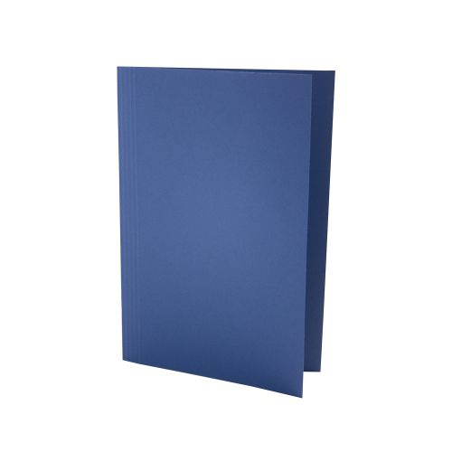 Guildhall Square Cut Folder Manilla Foolscap 180gsm Blue (Pack 100)