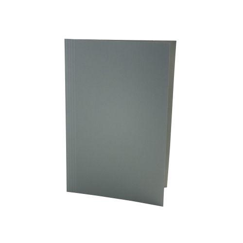 Value Square Cut Folder LightWeight Foolscap Green PK100