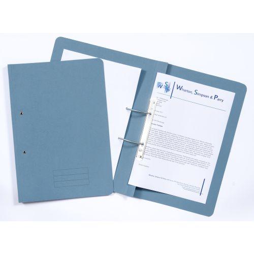 ValueX Transfer File Foolscap Blue TFM-BLUZ (Pack 25)