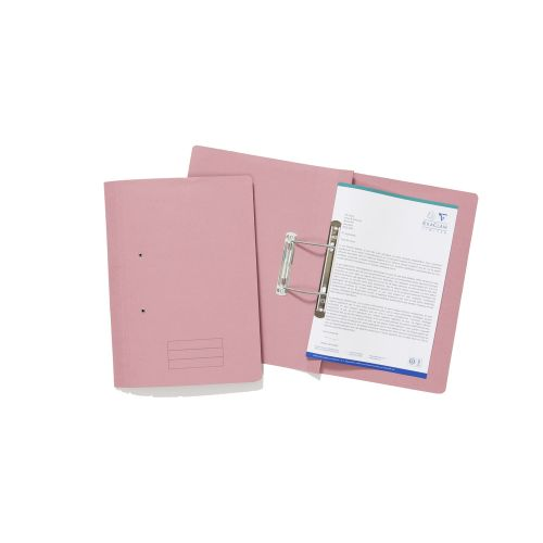 Value Transfer File Foolscap Pink TFM-PNKZ - (PK25)