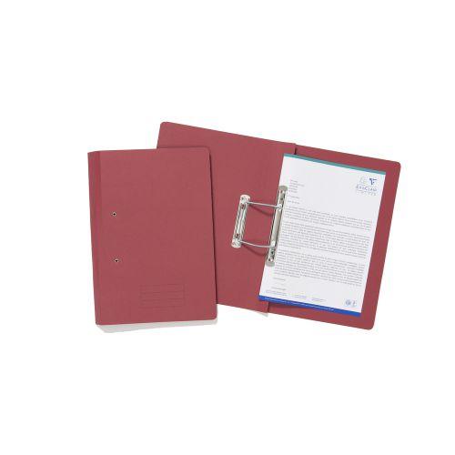 ValueX Transfer File Foolscap Red TFM-REDZ (Pack 25)