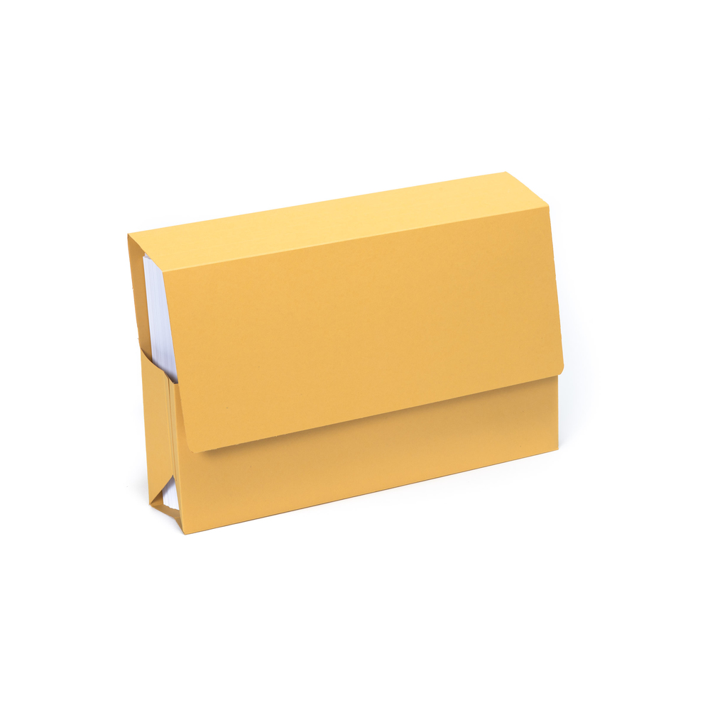 Guildhall Probate Wallet Manilla Foolscap Yellow PK25