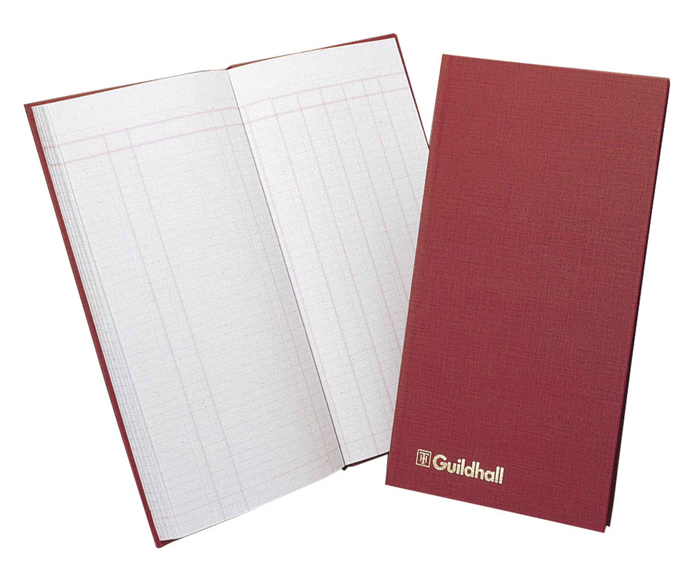 Guildhall Petty Cash Book Ruled 1 Debit 7 Credit 80Pg T272Z