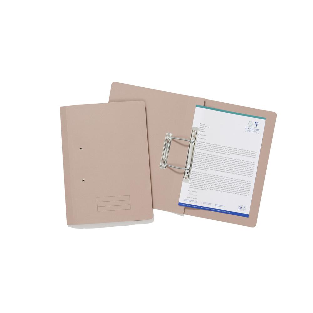 Box Files ValueX Transfer File Foolscap Buff TFM-BUFZ (Pack 25)
