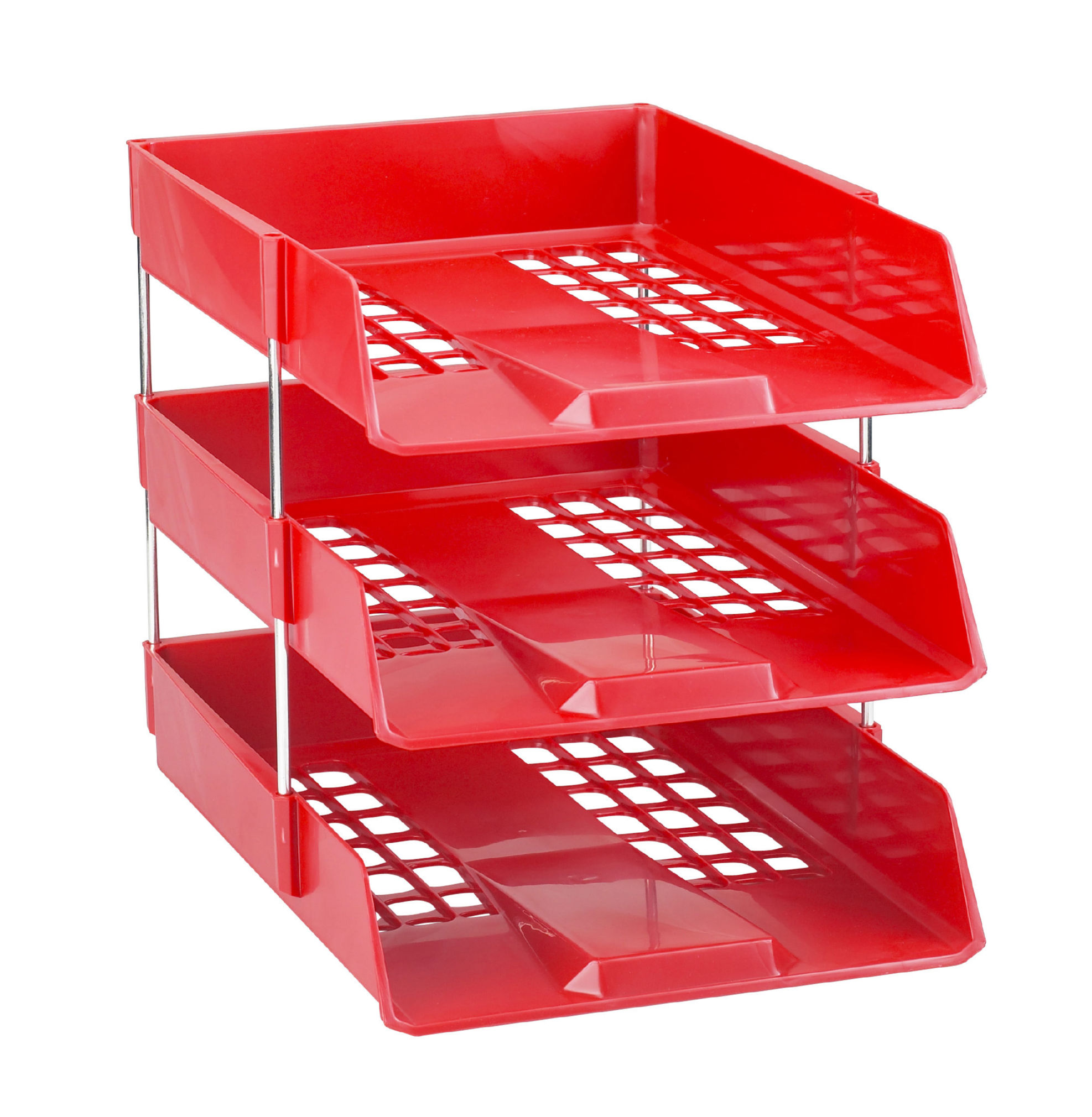Avery Basics Letter Tray Red 1132RED