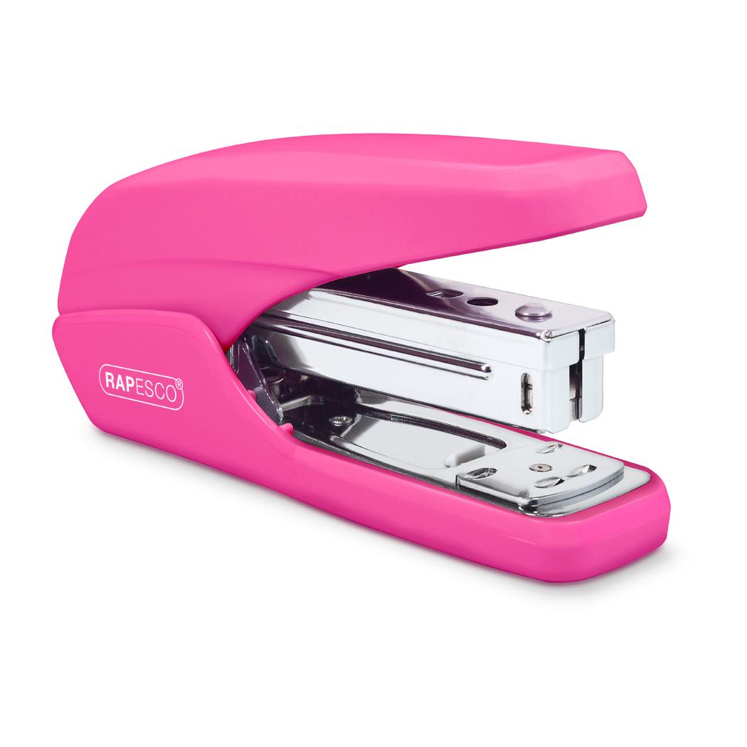 Rapesco X5-25ps Stapler Hot Pink