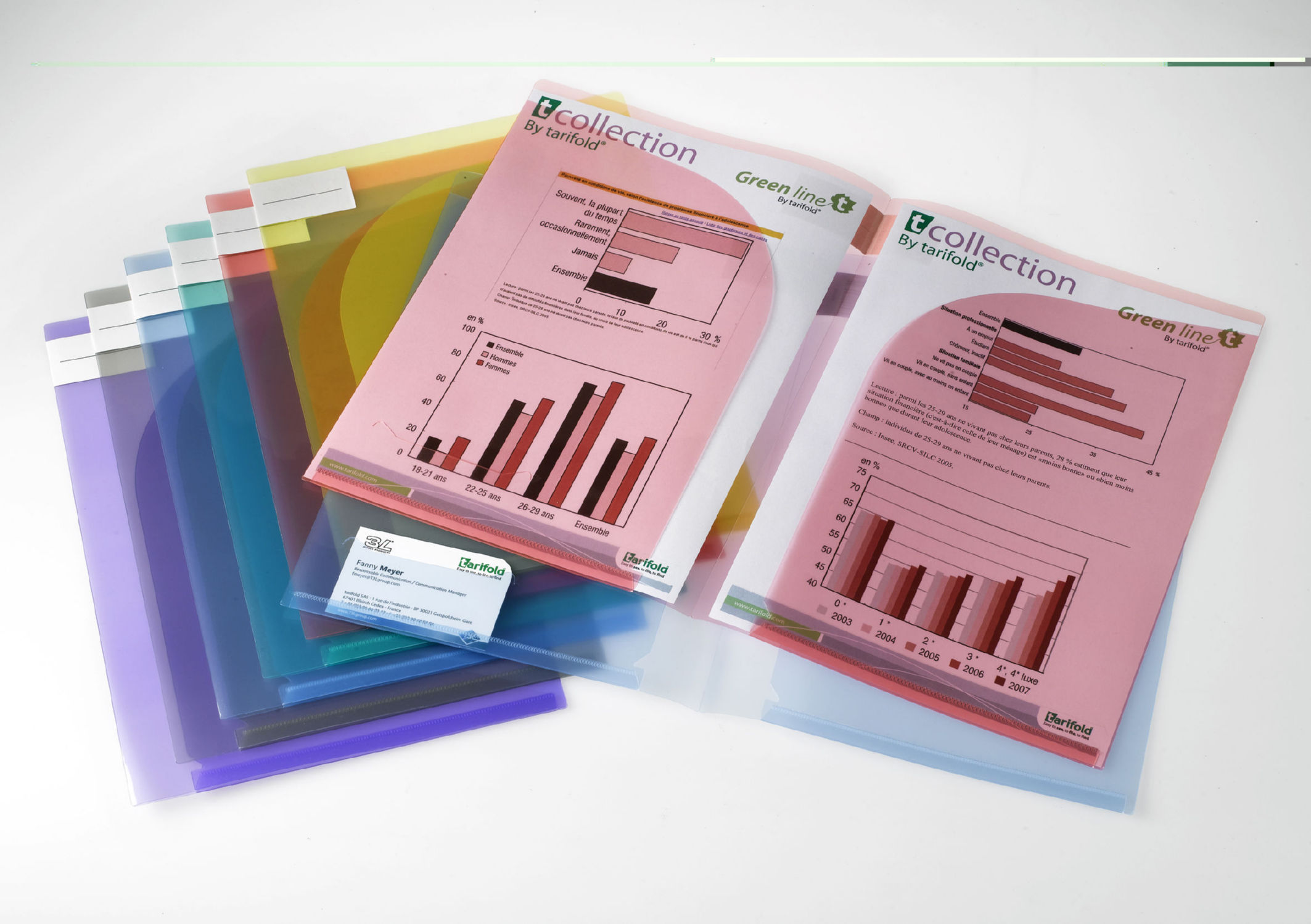 Tarifold A4 / A3 Presentation Folders Assorted