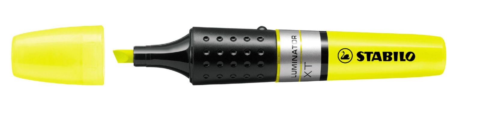 Highlighters Stabilo Boss Luminator Highlighter Double Cap Yellow PK5