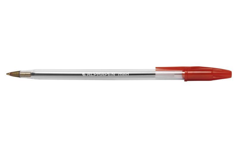 Value Ball Pen Med 0.7mm RD PK50