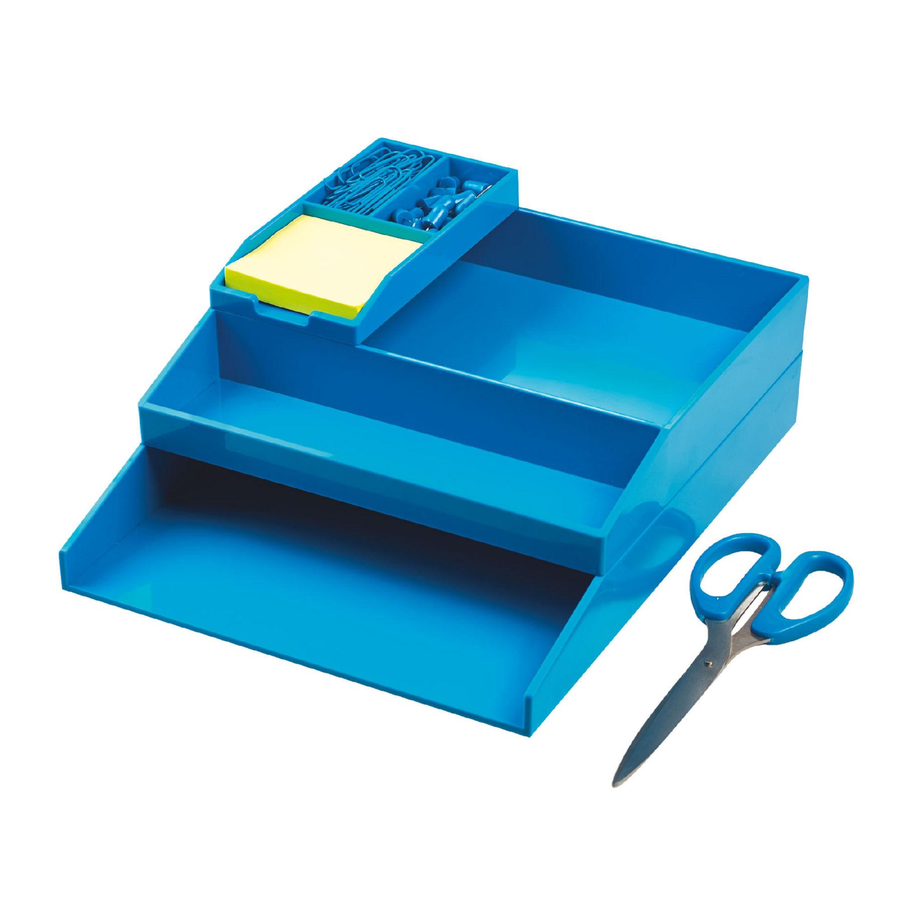 Avery ColorStak Office Desk Set Blue