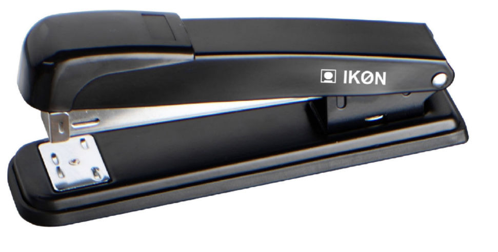 Value Stapler Full Strip Metal Black