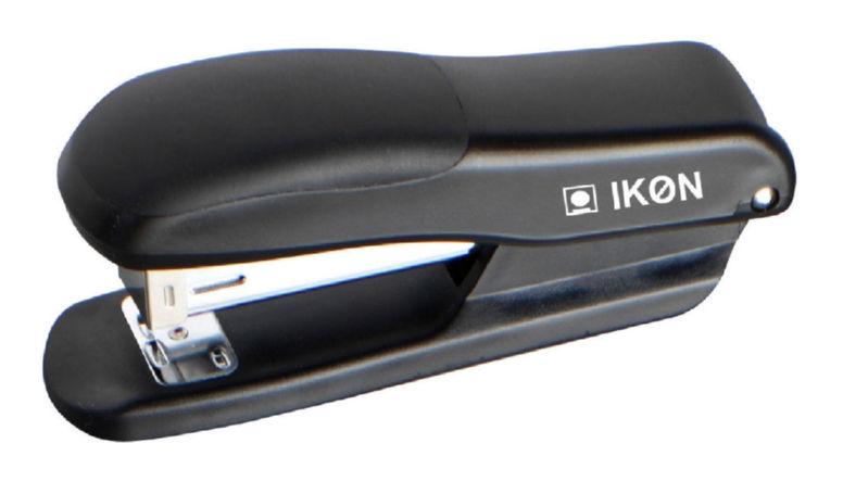 Long Arm Staplers ValueX Stapler Half Strip Plastic Black
