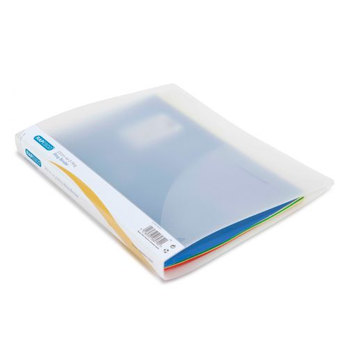 Rapesco 25mm 2-Ring Binder A4 Clear PK10