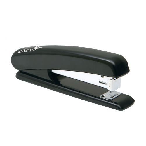 Rapesco Eco Full Strip Stapler ABS Black