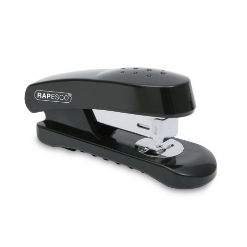 Rapesco Snapper Half Strip Stapler 20 Sheets Black