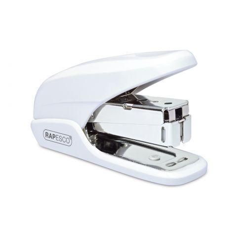 Rapesco X5 Mini Less Effort Stapler 20 Sheets White