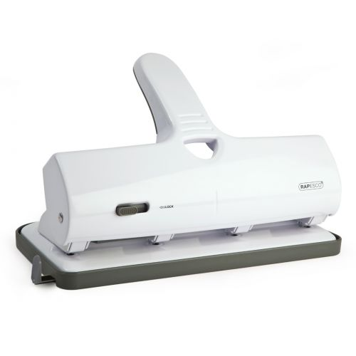 Rapesco ALU 40 Heavy Duty 4-Hole Punch