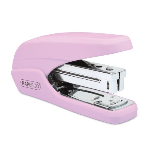 Rapesco X5-25ps Less Effort Stapler 25 Sheets Candy Pink