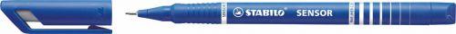 Stabilo Sensor Fineliner Water based Ink 0.3mm Line BL PK10