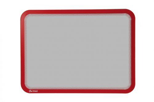 Tarifold Magneto Self Adhesive Display Frame Red A4 PK2