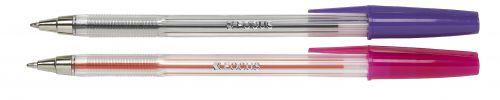 Value Ball Point Pen Violet Medium Point 0.7mm Pack of 50