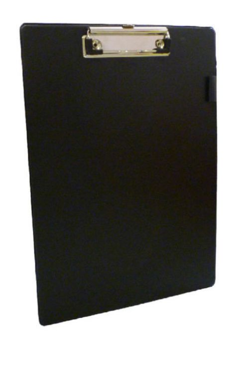 Image for Value PVC A4 Clipboard Black