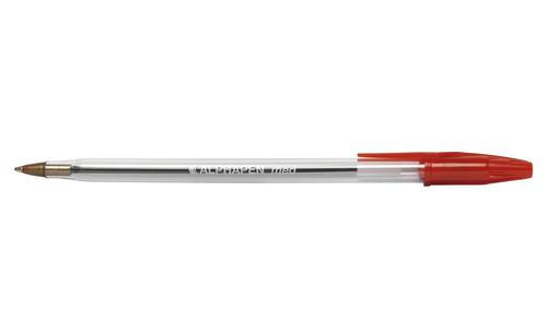 Value Ball Pen Medium 0.7mm Red (PK50)