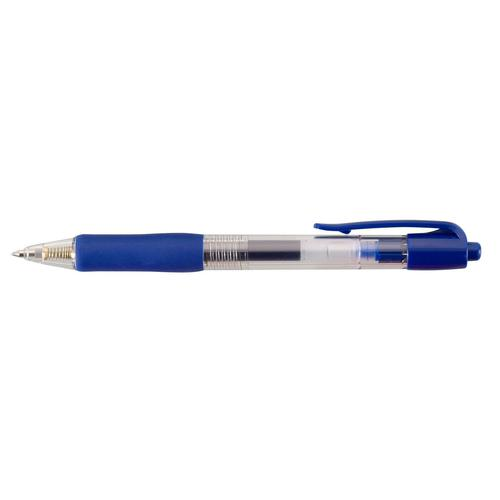 Value Retractable Gel Rollerball Blue PK10