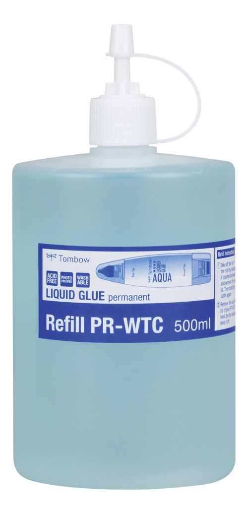 Tombow Refill for liquid glue PT-WTC 500 ml washable