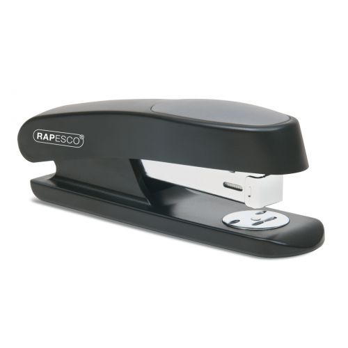 Rapesco Sting Ray Half Strip Stapler 50 Sheets Black
