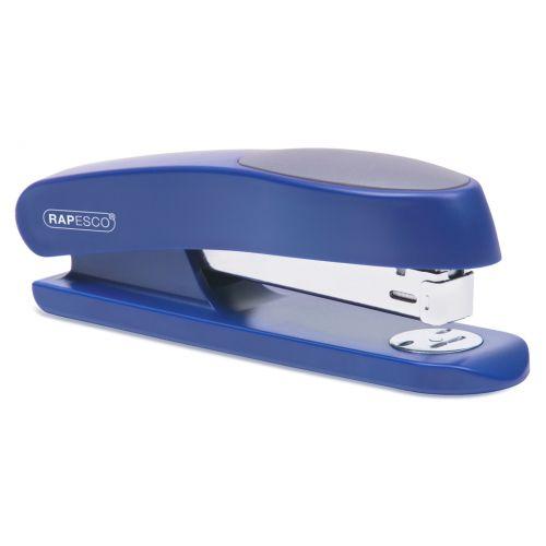 Rapesco Manta Ray Full Strip Stapler Blue