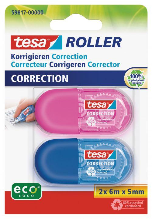 tesa Mini Correction 5mm x 6M 59817 PK2