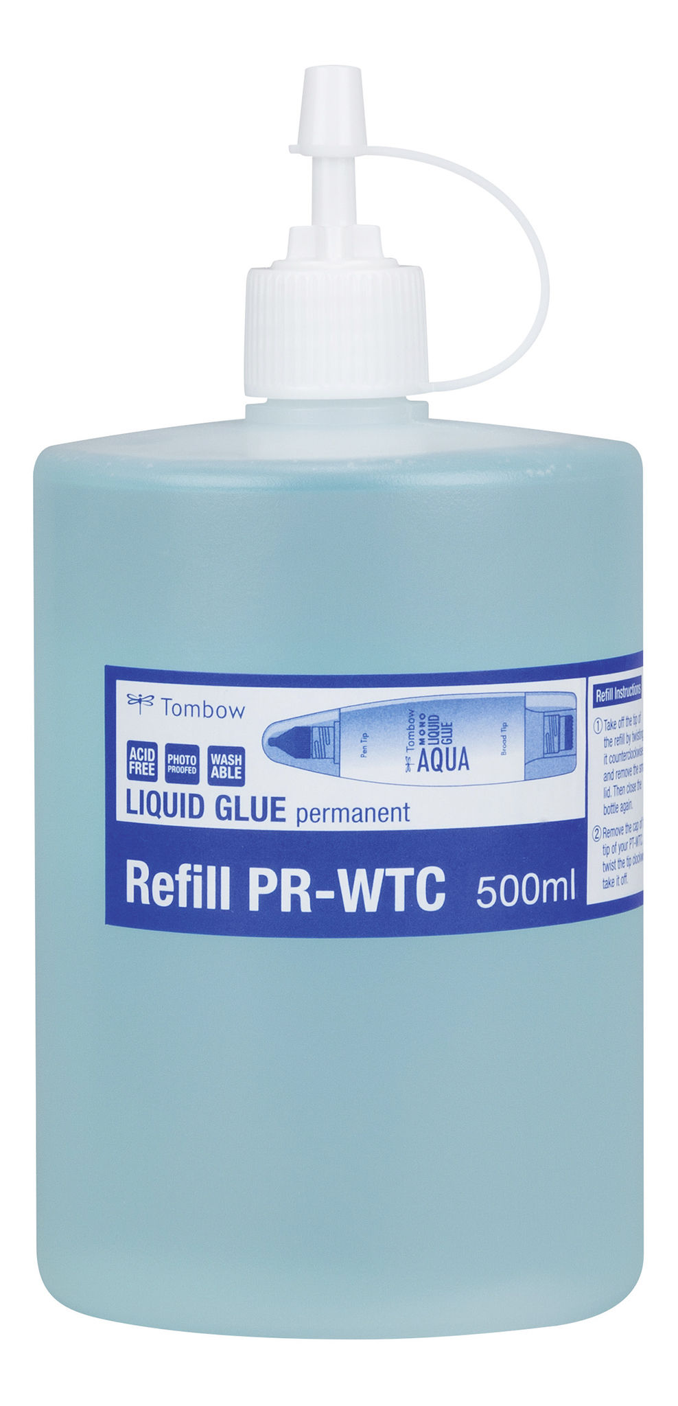 Refill for lqd glue 500ml washable