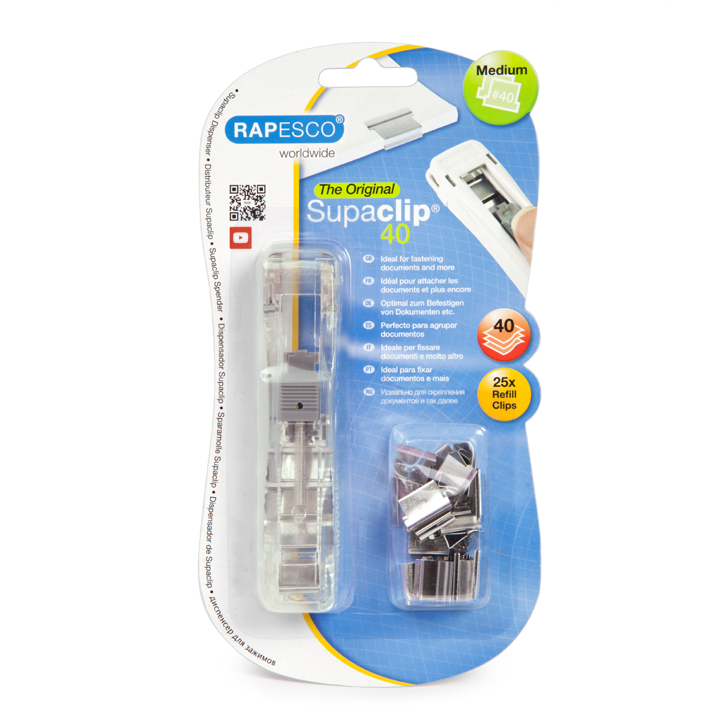 Supaclip 40 Dispenser & 25 SS Clips