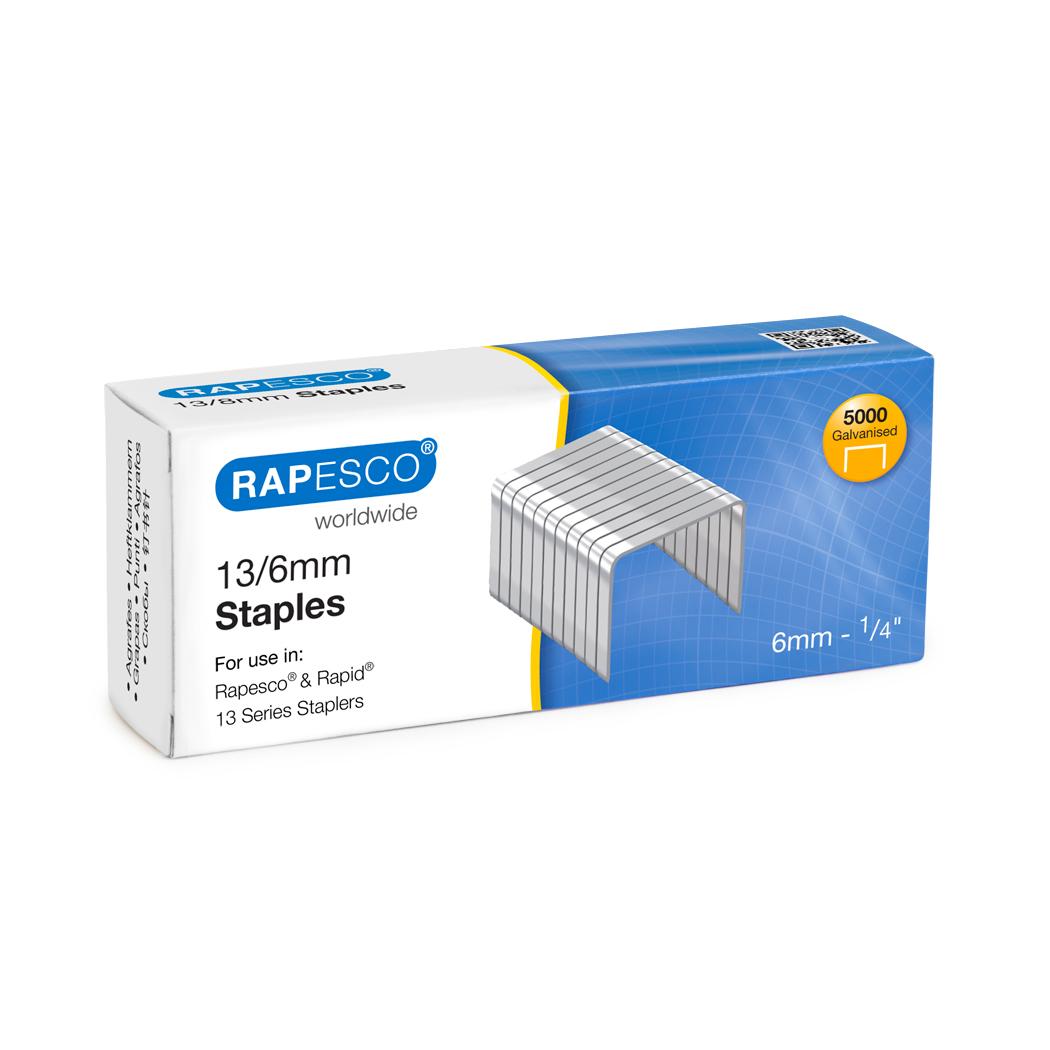 Rapesco 13/6mm Staples PK5000