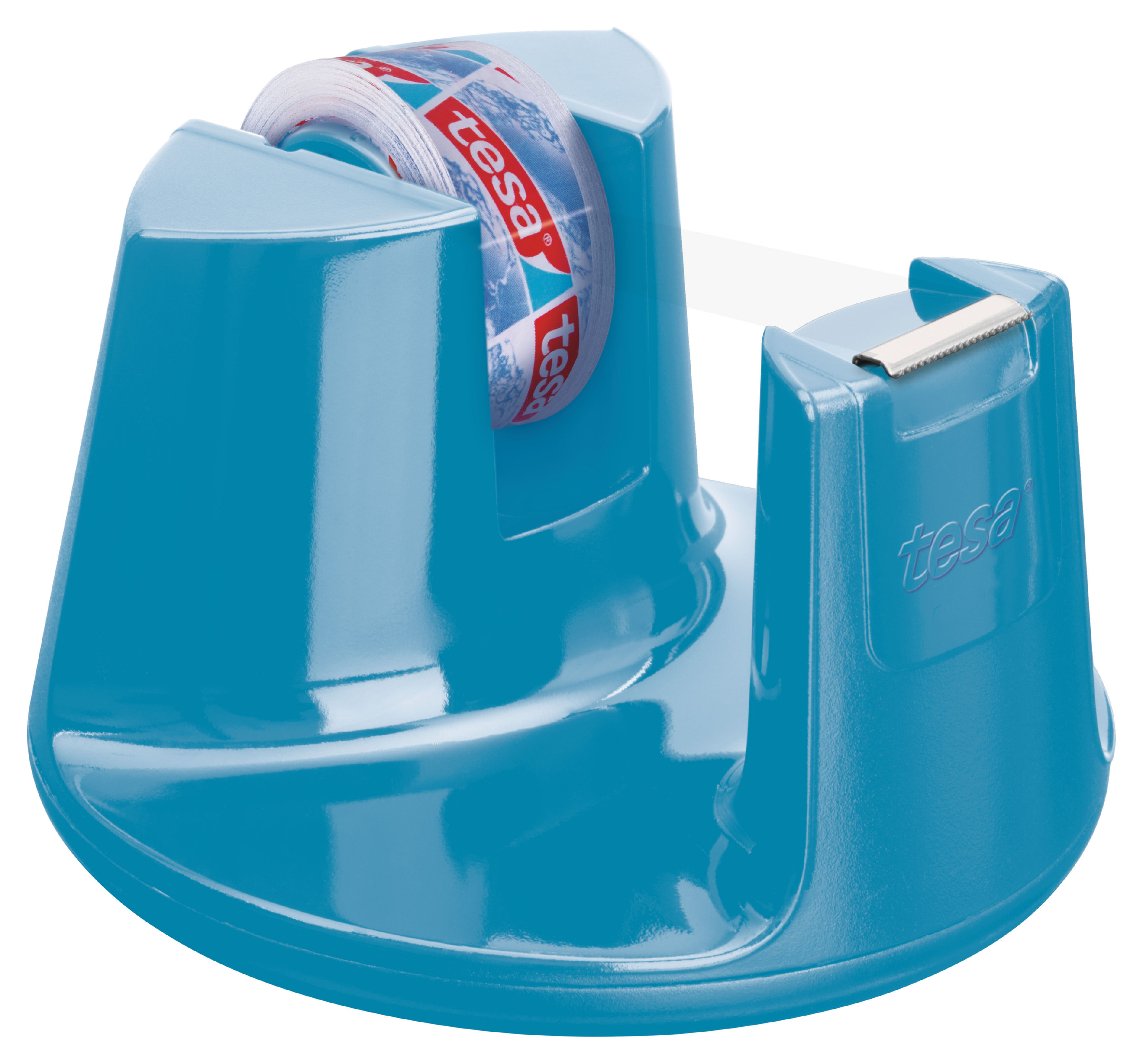 tesa Easy Cut Compact Dispenser Blue inc 1 roll 15mmx10m